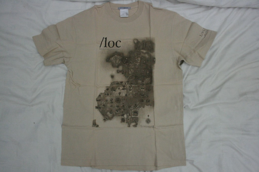 World map t shirt chenyongyuan well the design is simple it features the world map of the game lineage ii i do not play the game but last time i checked on google they have already gumiabroncs Images